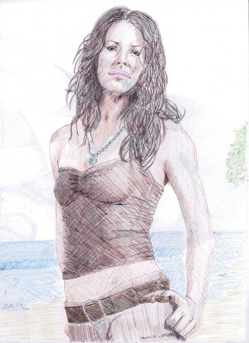 Evangeline Lilly par sebastien.jouve